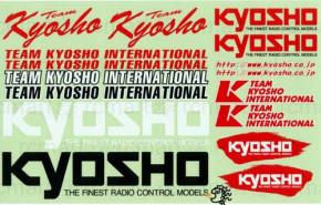 Team KYOSHO Original Dekorbogen